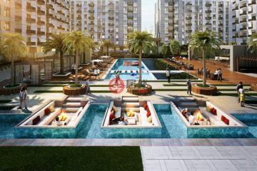 居外网在售阿联酋International City 2新开发的房产总占地33平方米AED 350,000