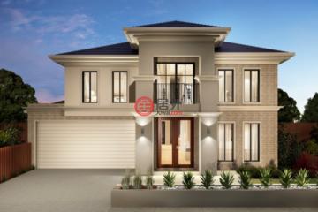 居外网在售澳大利亚4卧2卫新房的新建房产总占地400平方米AUD 785,000起