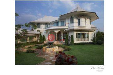居外网在售泰国4卧6卫特别设计建筑的房产总占地8094平方米THB 130,000,000
