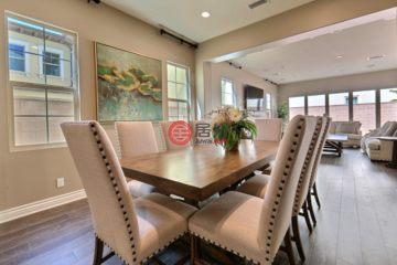 居外网在售美国5卧5卫新开发的房产总占地446平方米USD 1,998,000