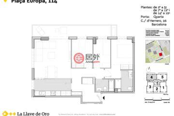 西班牙的房产,Plaza Europa, 114,编号42869837