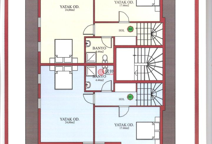 土耳其穆拉费特希耶的房产,Gocek,编号31744189