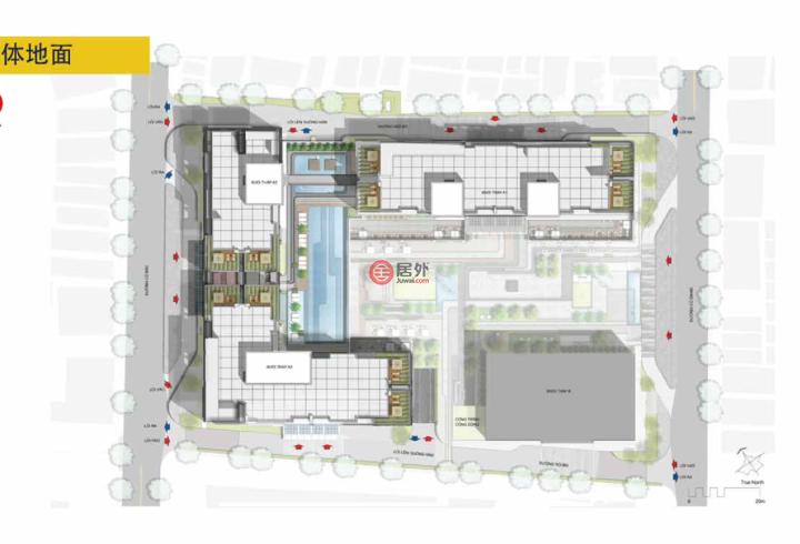 越南的房产,The Grand Manhattan - 100姑江路, 姑江坊, 第一郡,编号43384922