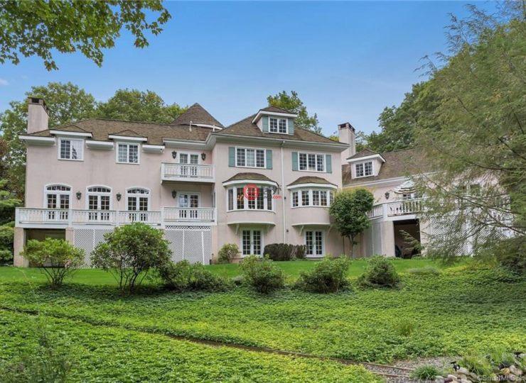 美国康涅狄格格林威治7卧8卫的客厅的房产块空什么叫挑楼上别墅那图片