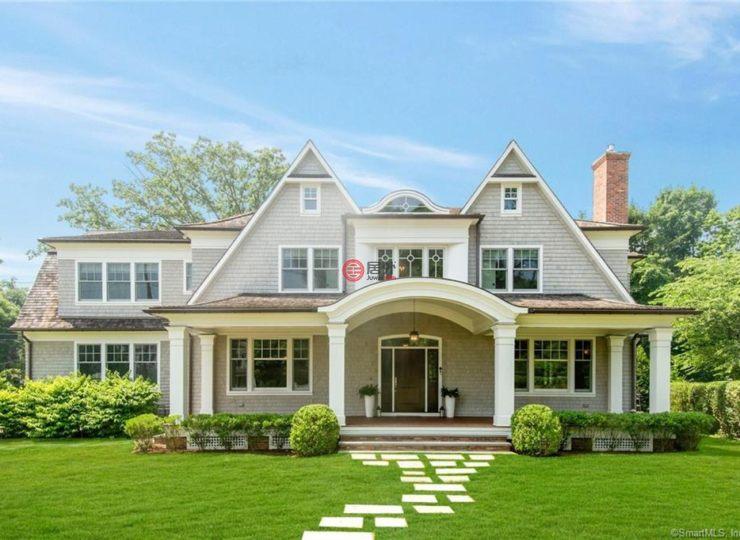 美国康涅狄格格林威治6卧7卫的别墅房产发物辛集市图片