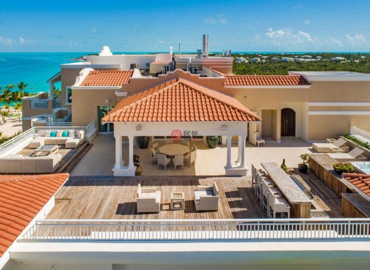特克斯与凯科斯群岛的房产,blue haven penthouse,编号44963737