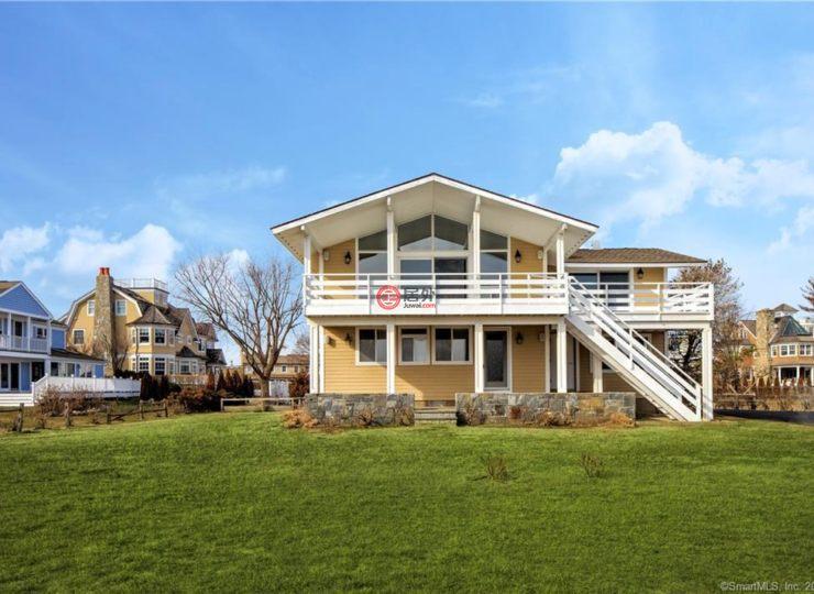 美国康涅狄格格林威治的房产高端别墅车库门图片