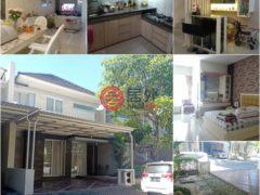 居外网在售印尼4卧4卫的房产总占地166平方米