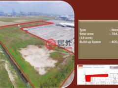 居外网在售马来西亚Pelabuhan KlangMYR 880,000 / 月总占地784080平方米的商业地产