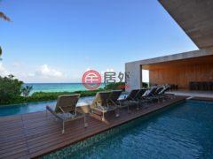 居外网在售墨西哥卡门海滩7卧11卫的房产总占地1731平方米USD 10,800,000