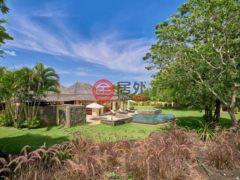 居外网在售毛里求斯塔马兰4卧4卫的房产总占地3095平方米MUR 90,000,000