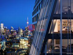 居外网在售加拿大多伦多1卧1卫的房产总占地42平方米CAD 524,990