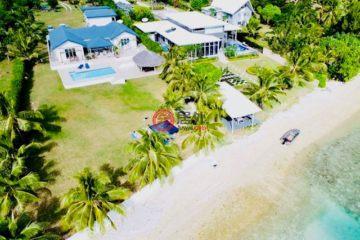 居外网在售瓦努阿图维拉港4卧4卫的房产总占地4163平方米VUV 140,000,000
