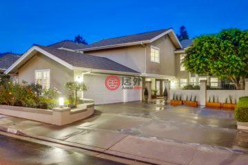 居外网在售美国5卧3卫曾经整修过的房产总占地567平方米USD 1,498,000