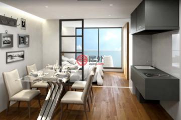 居外网在售日本1卧1卫新房的房产总占地27平方米JPY 40,900,300