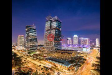 居外网在售新加坡2卧2卫新开发的公寓总占地110平方米SGD 3,968,000