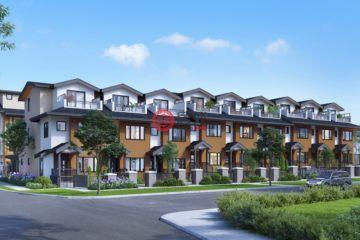 居外网在售加拿大3卧3卫新开发的房产总占地111平方米CAD 1,049,000