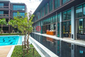 居外网在售泰国1卧1卫新开发的房产总占地57平方米THB 6,300,000