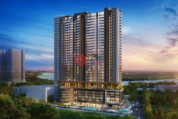 居外网在售越南1卧1卫新开发的房产总占地9642平方米USD 165,000