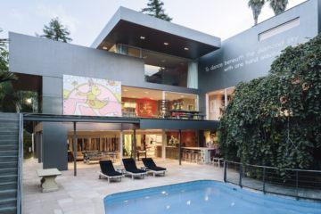 居外网在售新西兰5卧6卫特别设计建筑的房产总占地3565平方米