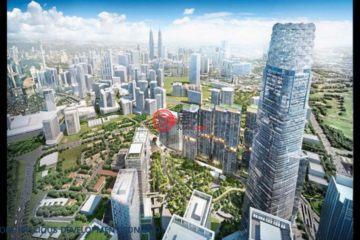 居外网在售马来西亚1卧1卫新开发的房产总占地58平方米MYR 1,204,000
