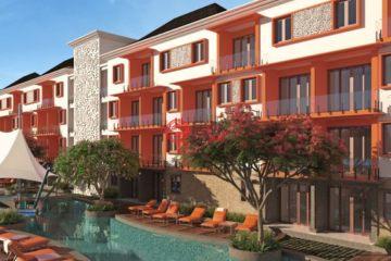 居外网在售印尼1卧1卫新开发的房产总占地34平方米USD 125,671