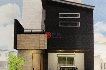 居外网在售日本大阪市4卧2卫的房产总占地110平方米JPY 39,800,000