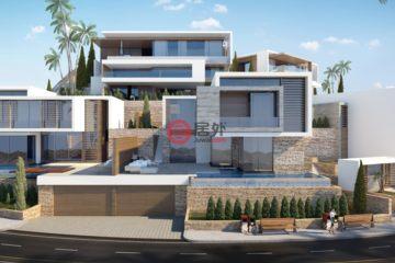 居外网在售塞浦路斯5卧5卫新开发的房产总占地1050平方米EUR 2,200,000