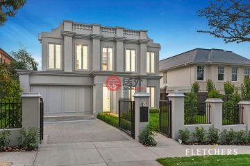 居外网在售澳大利亚Balwyn North6卧5卫的房产总占地663平方米AUD 4,500,000