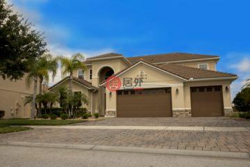 居外网在售美国基西米5卧5卫的房产总占地906平方米USD 500,000