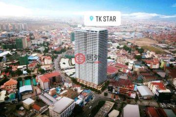 居外网在售柬埔寨Phnom Penh1卧1卫的房产总占地36平方米USD 90,000