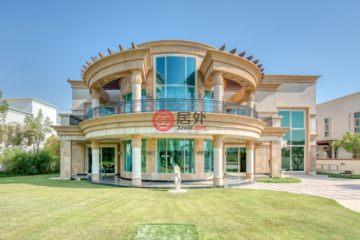 居外网在售阿联酋迪拜7卧7卫的房产总占地2577平方米AED 49,000,000