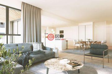 居外网在售葡萄牙1卧1卫的公寓总占地57平方米EUR 465,000