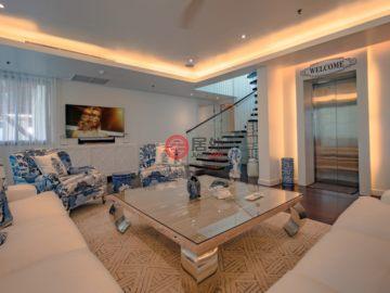 居外网在售泰国4卧6卫曾经整修过的独栋别墅总占地872平方米USD 2,880,000
