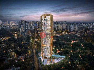 居外网在售新加坡新开发的新建房产总占地5846.2平方米