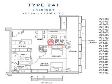 新加坡SingaporeSingapore的新建房产,风华南岸府 (South Beach Residences)  28 Beach Rd, Singapore,编号56856769