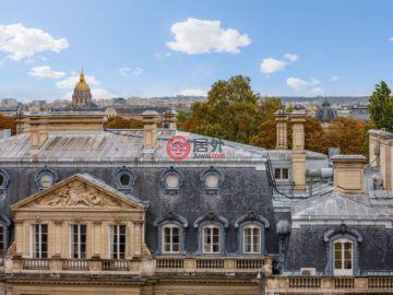 居外网在售法国巴黎的房产总占地277平方米