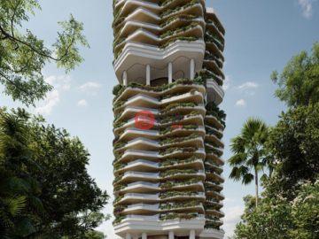 居外网在售新加坡2卧2卫新开发的房产总占地133平方米SGD 5,980,000