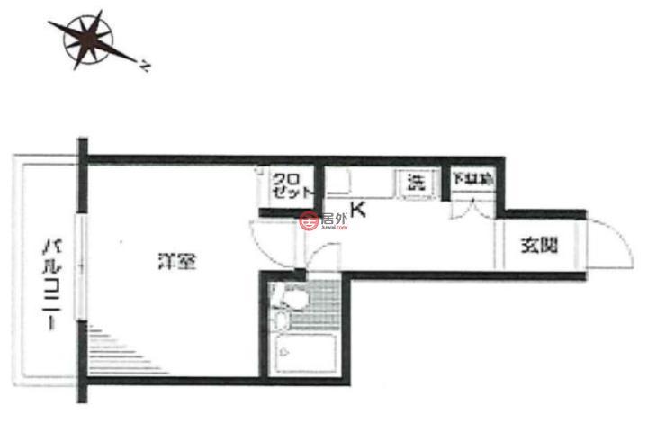 日本TokyoShibuya的房产,東京都渋谷区笹塚1-22-8,编号51457615