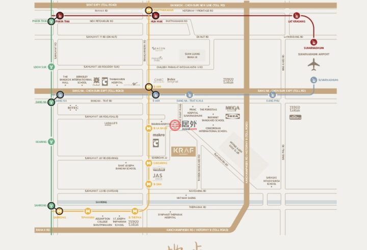 泰国Bangkok曼谷的房产,Srinacharinda,编号54935203