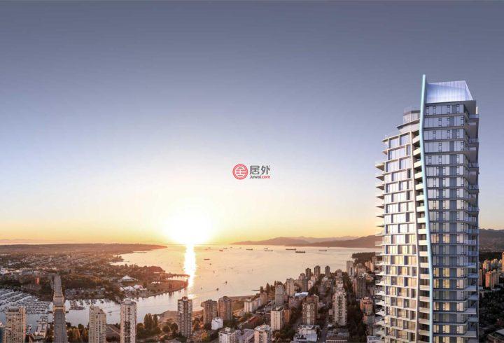 加拿大不列颠哥伦比亚省温哥华的房产,5701-1289 Hornby Street,编号54982801