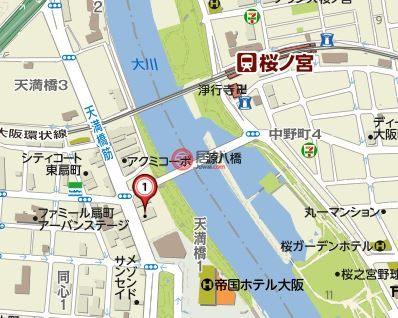 日本大阪府大阪市的房产,北区天満橋1丁目8-64,编号44021976