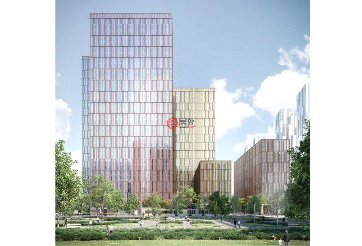 英国英格兰Salford的新建房产,X1 Michigan Tower, Michigan Avenue,编号55108716