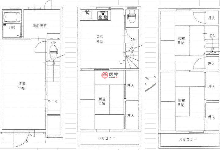 日本大阪府Osaka的房产,编号43481651