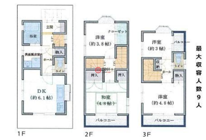 日本TokyoTokyo的房产,東京都葛飾区青戸5-19-13,编号51573108