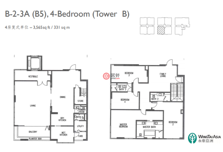 马来西亚Kuala Lumpur吉隆坡的房产,马来西亚嘉逸华府,吉隆坡稀有大平层豪宅,超低单价1.5万/平,编号54116153