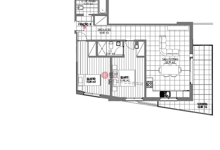 葡萄牙莱里亚Alcobaça的公寓,Rua Francisco Martins,编号54408445