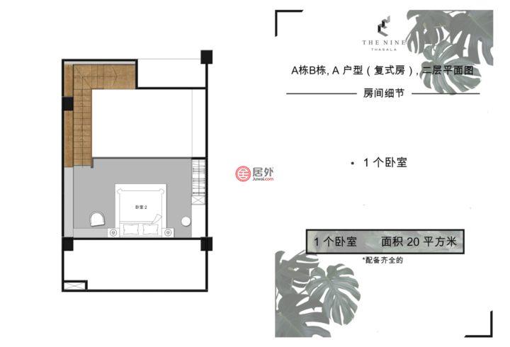 泰国清迈府清迈的房产,Unname,编号55693126
