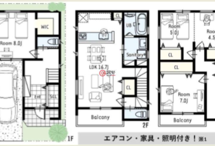 日本大阪府大阪市的房产,编号43442553