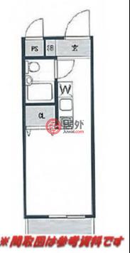 日本Tokyo Prefecture东京的公寓,中落合1-12-2,编号57128478